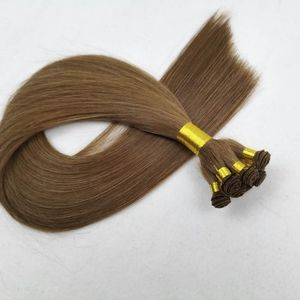 20″ Hand-Tied Weft Human Hair Extensions #6